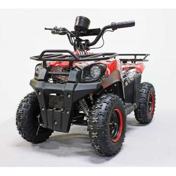 Квадроцикл GreenCamel Гоби K45 (36V 800W R6 Цепной привод) Красный экстрим